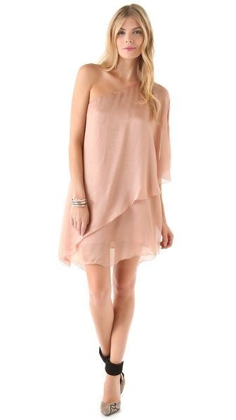Sheri Bodell Layered Asymmetrical Dress