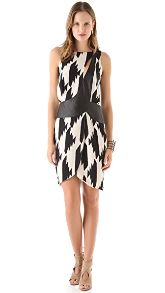 Sheri Bodell Spiked Houndstooth Dress