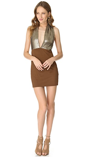 Sheri Bodell Cotswolds Halter Dress