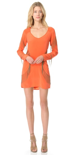 Shop Sheri Bodell Chain Fringe Mini Dress - Sheri Bodell online - Apparel,Womens,Dresses,Cocktail,Night_Out, at Lilychic Australian Clothes Online Store