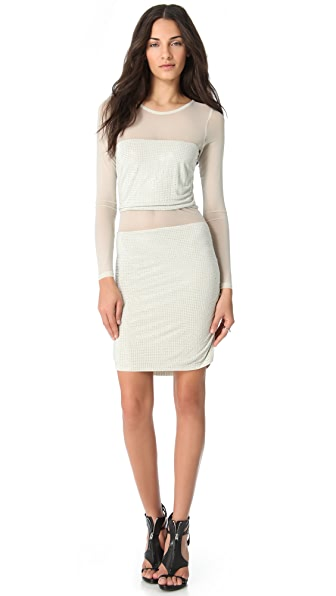 Sheri Bodell Crystal Illusion Dress