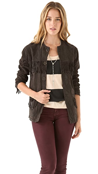 Shine Solo Fringe Jacket