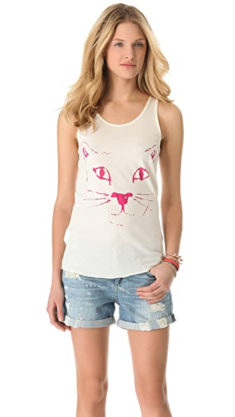 Shine Boogie Cat Tank