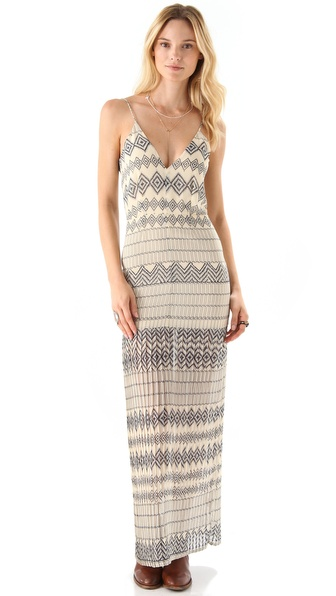 Shona Joy Tracked You Down Maxi Dress
