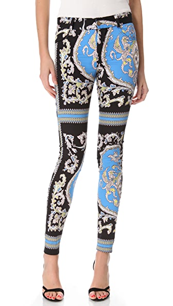 Shona Joy The Adorned Printed Pants