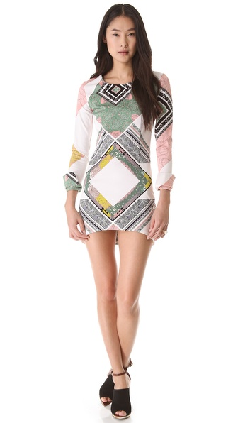 Shona Joy We Surrender Body Con Dress