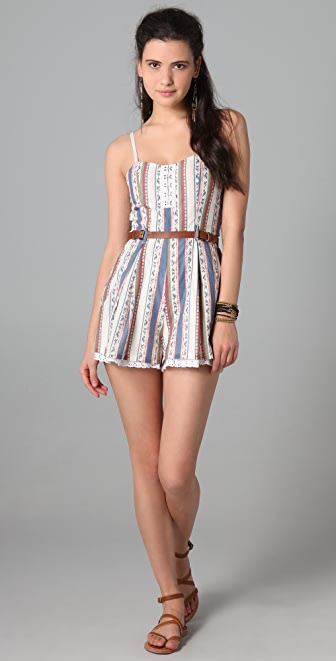 6 Shore Road by Pooja Rum Punch Romper