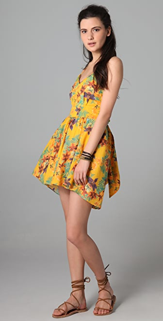 6 Shore Road by Pooja Bonfire Mini Dress