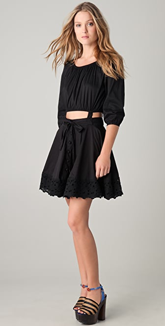 6 Shore Road by Pooja East End Mini Dress with Removable Skirt