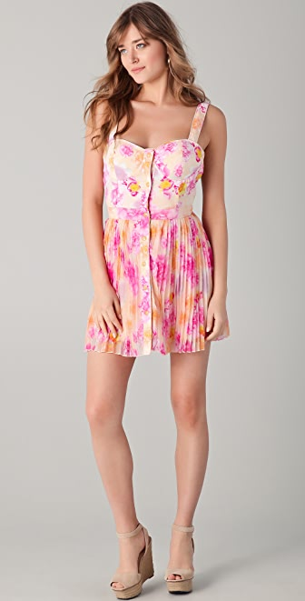 6 Shore Road by Pooja Route 27 Bustier Mini Dress