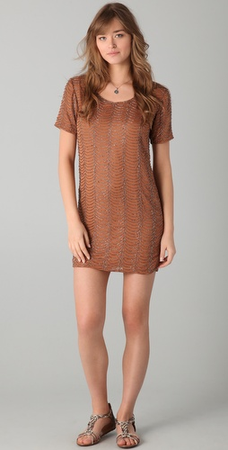 6 Shore Road Seaside Beaded Shift Dress