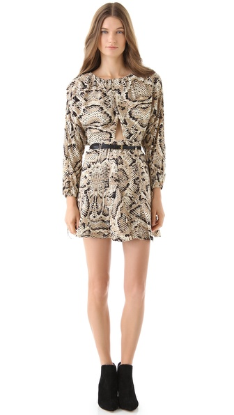 6 Shore Road by Pooja Night Hawk Cutout Mini Dress