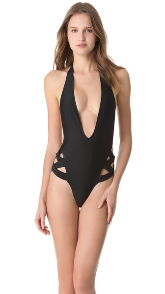 6 Shore Road Kiyana Halter One Piece