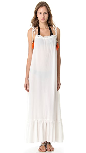 6 Shore Road by Pooja Monsoon Cover Up Maxi Dress