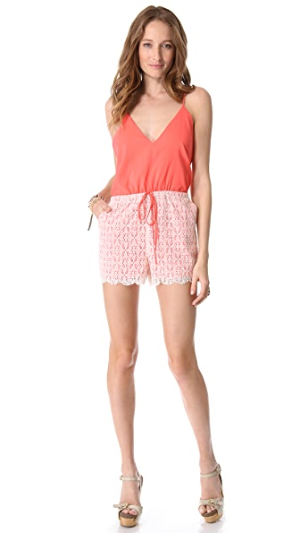 6 Shore Road by Pooja Malay Lace Romper