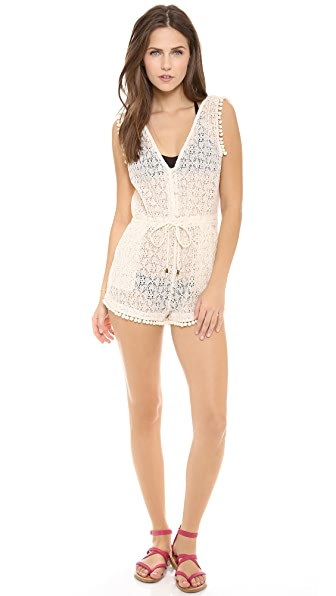 6 Shore Road by Pooja Lazy Sunday's Lace Romper
