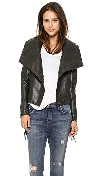 6 Shore Road by Pooja Riders Leather Jacket