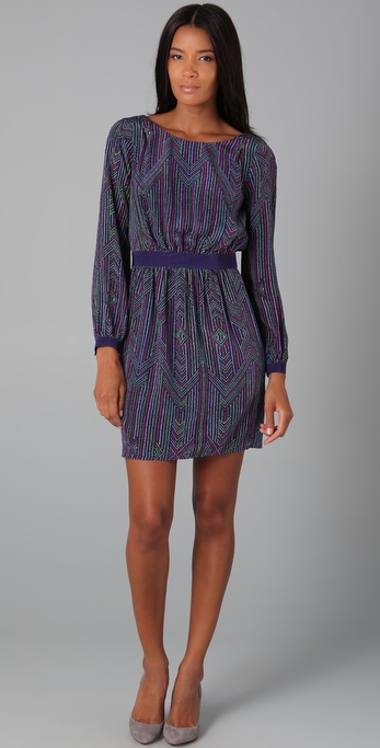Shoshanna Long Sleeve Dress