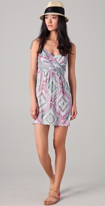 Shoshanna Mia Print Dress