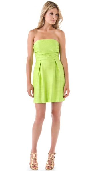 Shoshanna Marnie Strapless Dress
