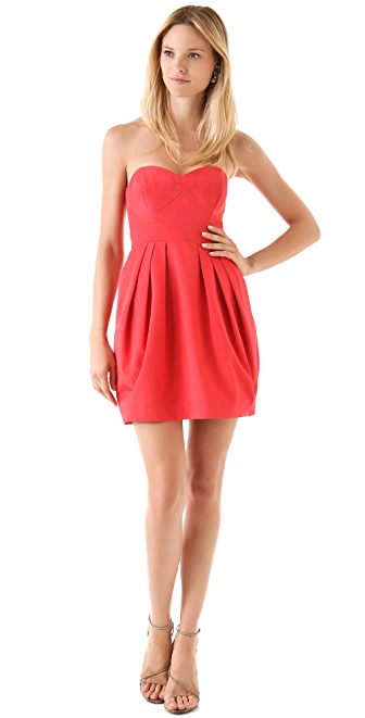 Do Shoshanna Dresses Run Small Shoshanna Megan Strapless