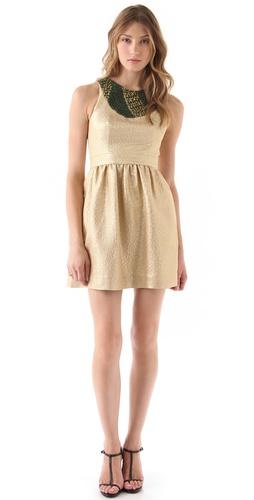 Shoshanna Beaded Priya Dress