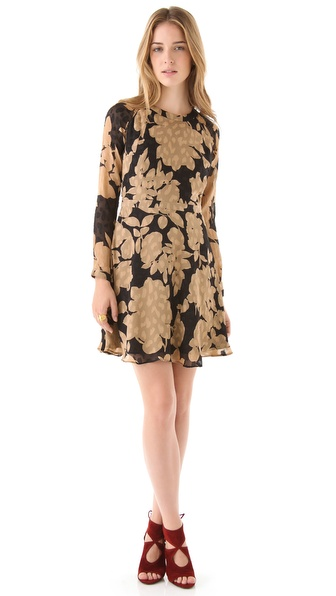 Shoshanna Carla Floral Dress