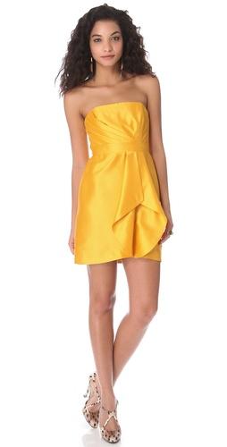 Shoshanna Orly Strapless Dress