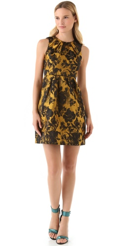 Shop Shoshanna Emilia Rose Jacquard Dress and Shoshanna online - Apparel,Womens,Dresses,Cocktail,Night_Out, online Store