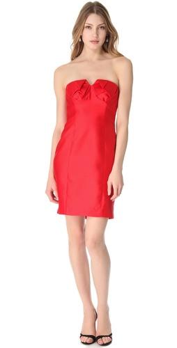 Shoshanna Chiara Strapless Dress