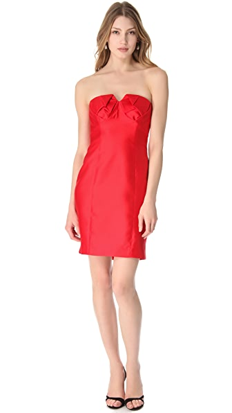 Shoshanna Chiara Strapless Dress