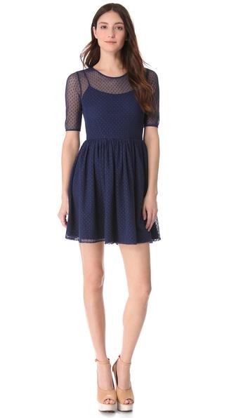 Shoshanna Lace Felicity Dress