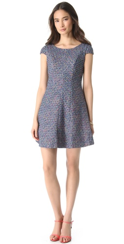 Shoshanna Bethany Tweed Dress