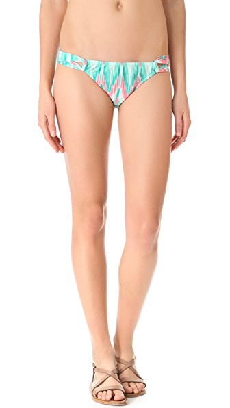 Shoshanna Cascade Ikat Loop Bikini Bottoms