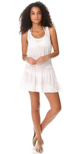 Shop Shoshanna Azalea Embroidered Cover Up Dress and Shoshanna online - Apparel,Womens,Swim,Coverups, online Store