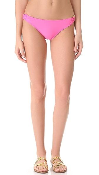 Shoshanna Bubble Gum Bikini Bottoms