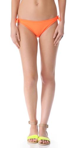 Shoshanna Neon Orange Bikini Bottoms