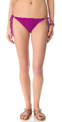 Shoshanna Ultraviolet String Bikini Bottoms