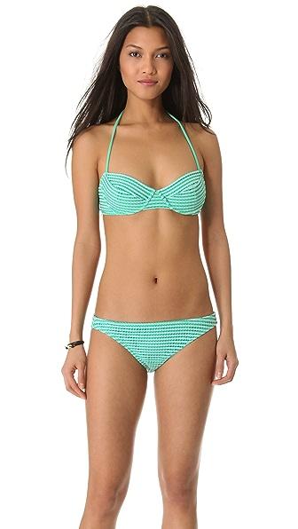 Shoshanna Adelaide Crochet Bikini Top