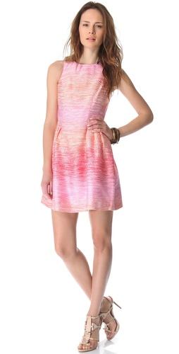 Shoshanna Freyja Ombre Tweed Dress