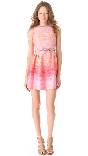 Shoshanna Freyja Ombre Tweed Dress from shopbop.com