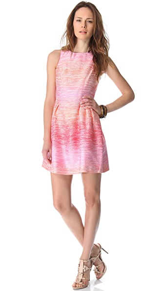 Do Shoshanna Dresses Run Small Shoshanna Freyja Ombre Tweed