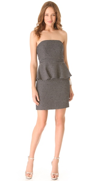 Shoshanna Nayalya Peplum Dress