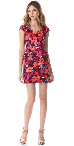 Shoshanna Christina Floral Sheath Dress