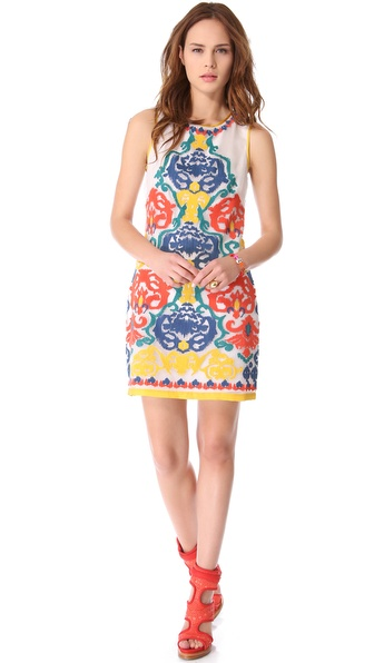 Shoshanna Embroidered Nadera Dress