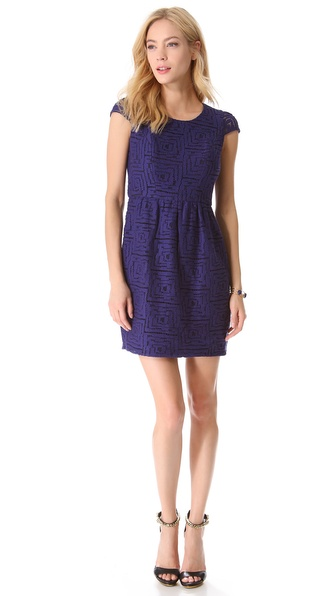 Shoshanna Lace Antonia Dress