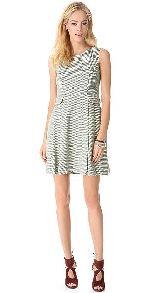 Shoshanna Leighton Peplum Dress