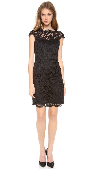 Shoshanna Lace Olivia Dress