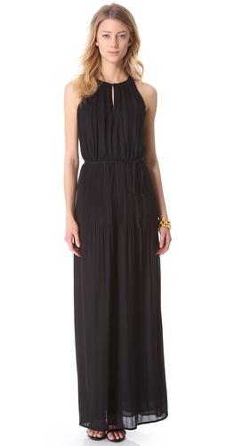 Shoshanna Keyhole Maxi Dress