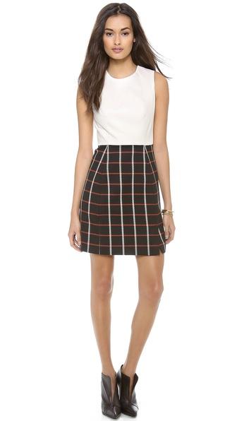 Shoshanna Marlee Combo Dress